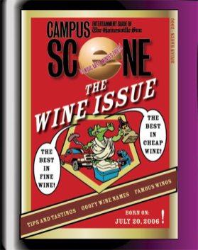 "Scene magazine ""The Wine Issue"""