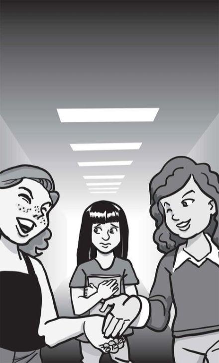 "Children's book: ""Sometime Friends,"" popular girls"