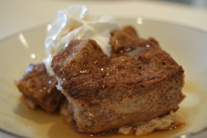Dump and Stir Bread Pudding