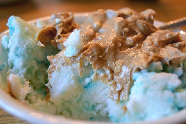 Single Serve Birthday Cake Ice Cream
