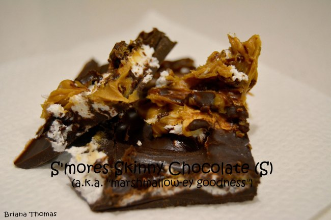 S'mores Chocolate Bites