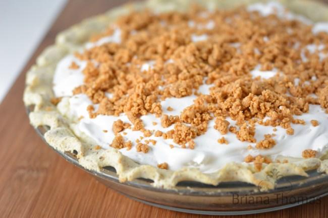 Briana's Peanut Butter Cream Pie