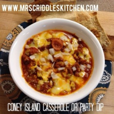 Coney Island Casserole or Party Dip