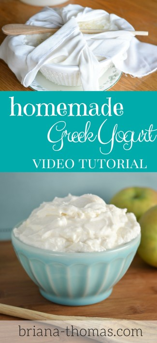 Greek Yogurt Video Tutorial