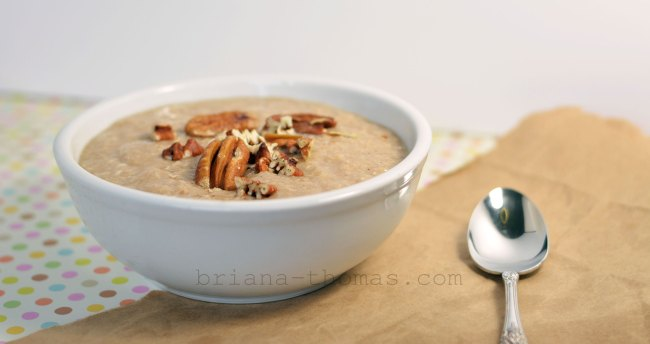Butter Pecan Breakfast Porridge