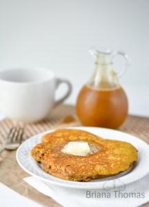 Jumbo Pumpkin Pie Pancake for One