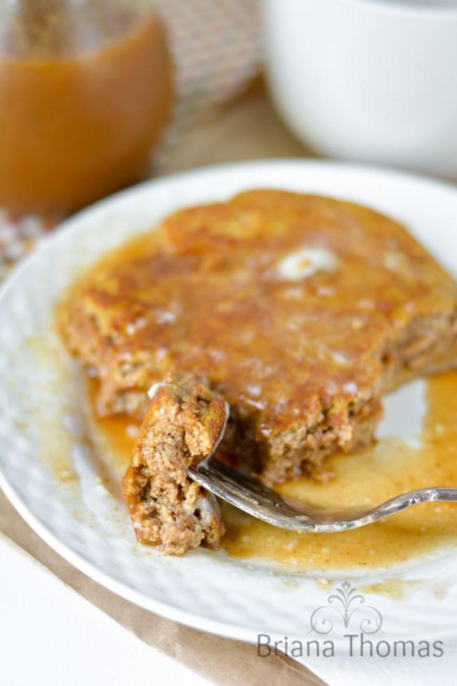 Jumbo Pumpkin Pie Pancake