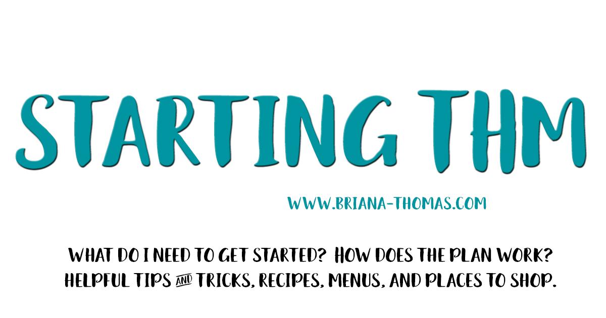 Starting THM - www.briana-thomas.com