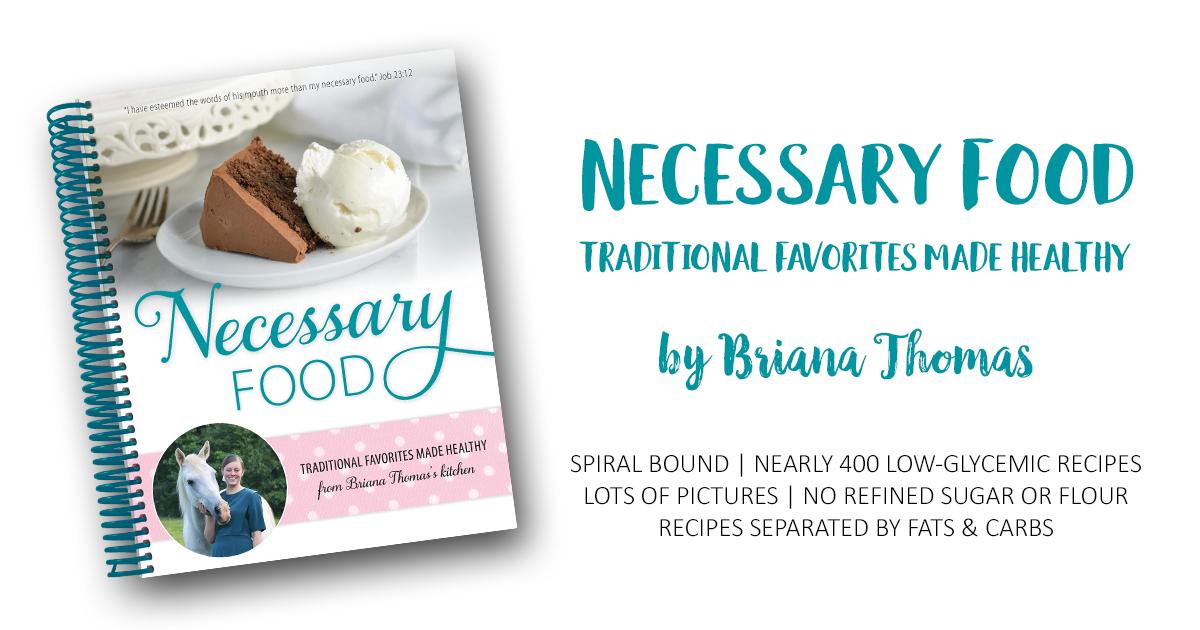 Necessary Food - www.briana-thomas.com