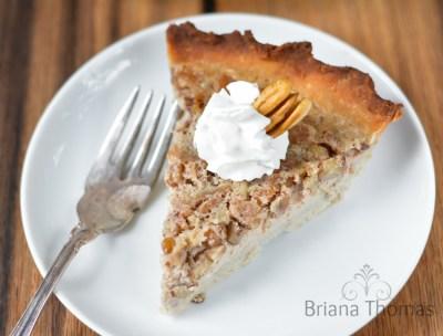 Pecan Custard Pie