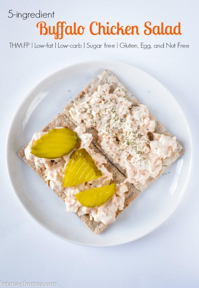 5-Ingredient Buffalo Chicken Salad