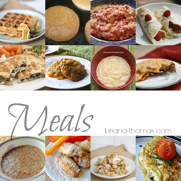 This roundup of Twenty 5-Ingredient Meals, Side Dishes, and Desserts is THM approved, sugar free, either low fat or low carb, and most are allergy friendly!