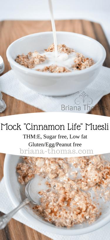 Mock Cinnamon Life Muesli