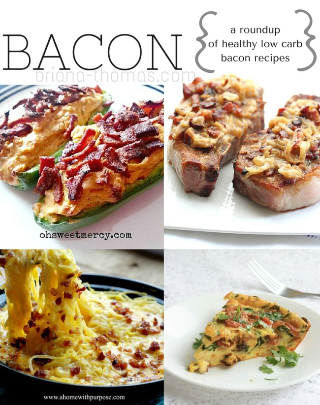Bacon Recipe Roundup