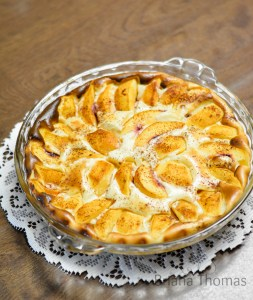 Peaches & Cream Bake