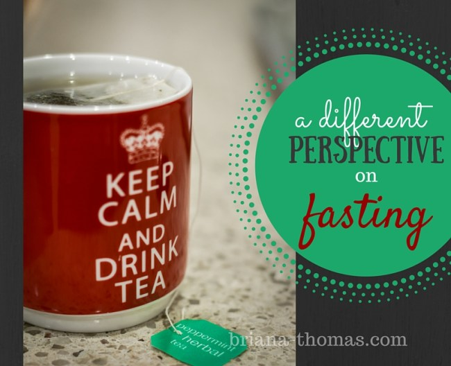 A Different Perspective on Fasting