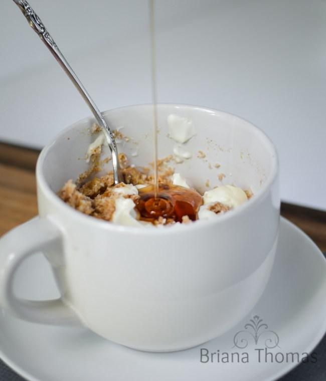 Eggless Coffee Cake Smash