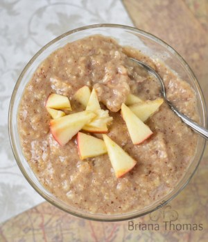 "Creamy Maple and ""Brown Sugar"" Oatmeal"