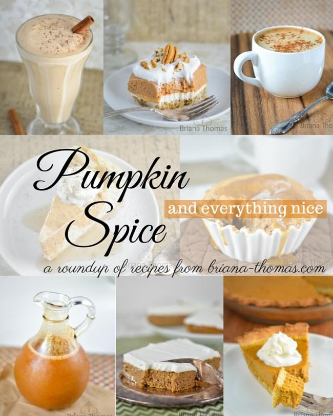 Pumpkin Spice Recipe Roundup
