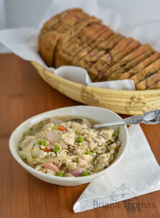 Chicken Barley Veggie Soup
