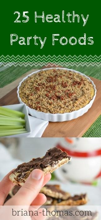 25 Healthy Party Food Recipes