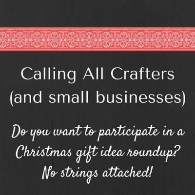 Calling All Crafters (and small businesses)