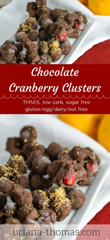 Cranberry Chocolate Clusters