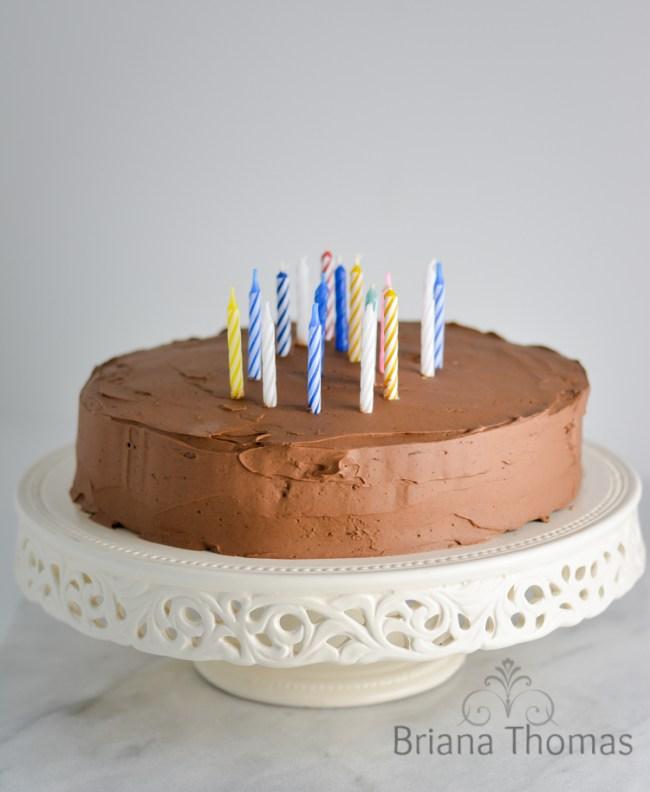 Whipped Chocolate Buttercream And My 20th Birthday Cake Briana