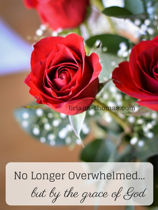 No Longer Overwhelmed