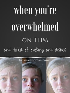 When You're Overwhelmed on THM