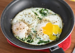 Kate's Spinach Eggs