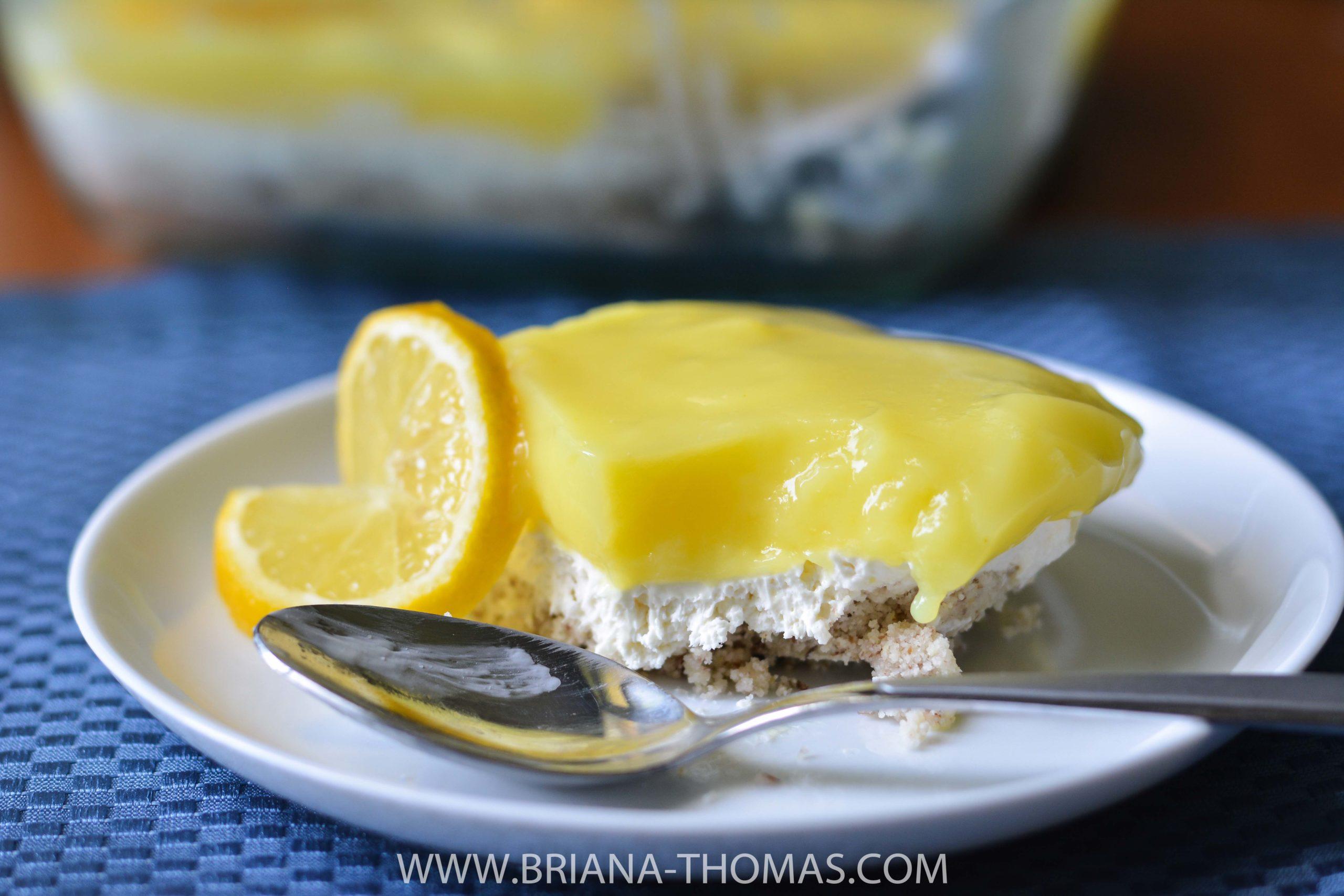 Lemon Cheesecake Delight - Briana Thomas