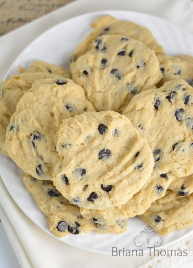 Briana's House Low Carb Chocolate Chip Cookies