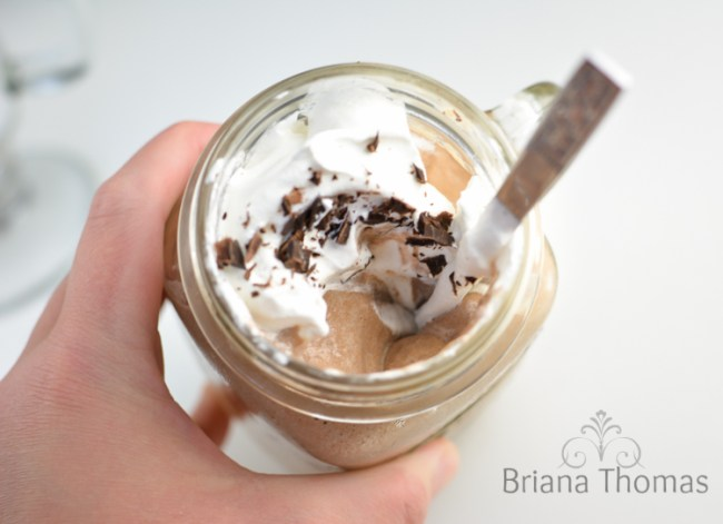 Instant Frozen Coffee Pudding