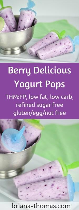 Berry Delicious Yogurt Pops