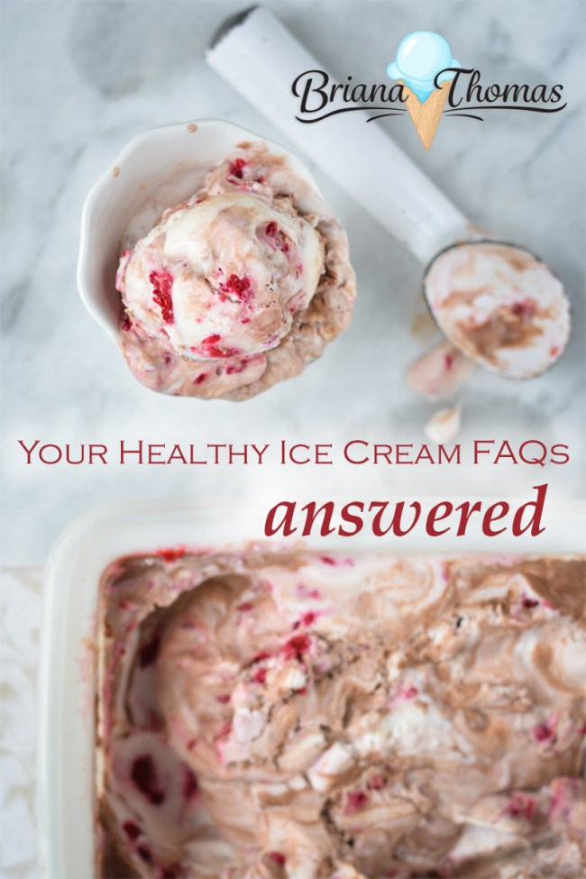 Your Healthy Ice Cream FAQs Answered