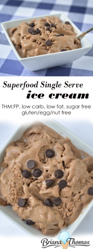 Superfood Single Serve Ice Cream