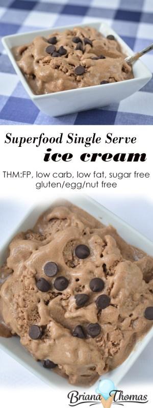 Superfood Single Serve Ice Cream