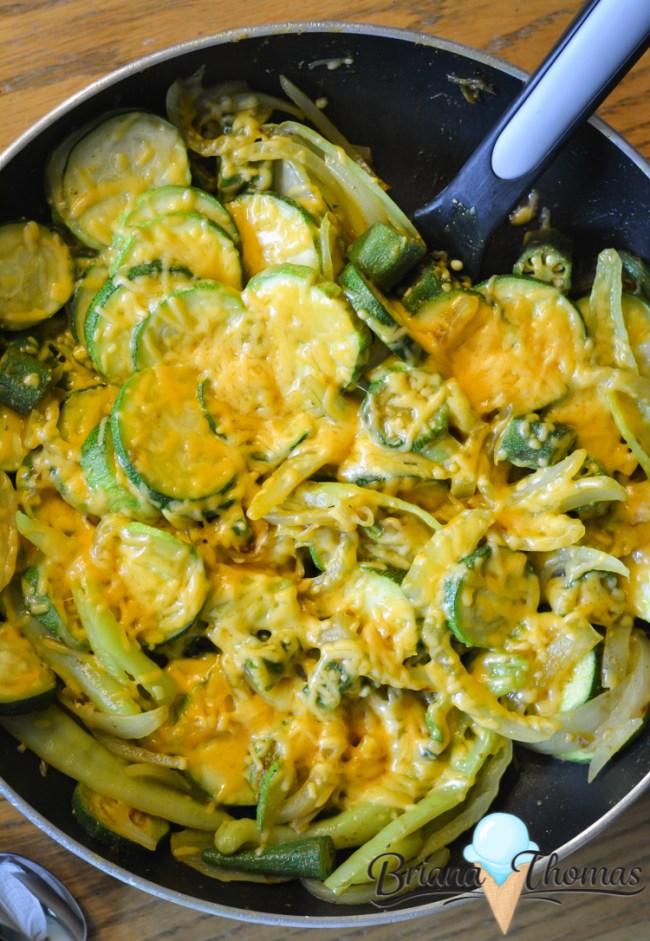 THM-friendly zucchini stir-fry