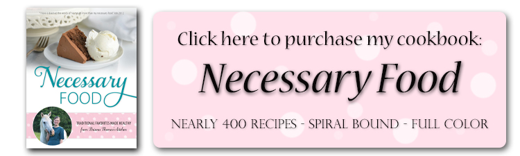 Necessary Food Cookbook (Briana Thomas)