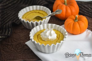 Quick Pumpkin Cheesecakes