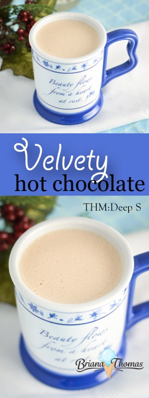This Velvety Hot Chocolate comes to you in honor of my third bloggiversary! THM: Deep S, low carb, sugar free, gluten/egg free with nut free suggestion