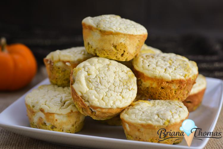 Pumpkin Cheesecake Muffins