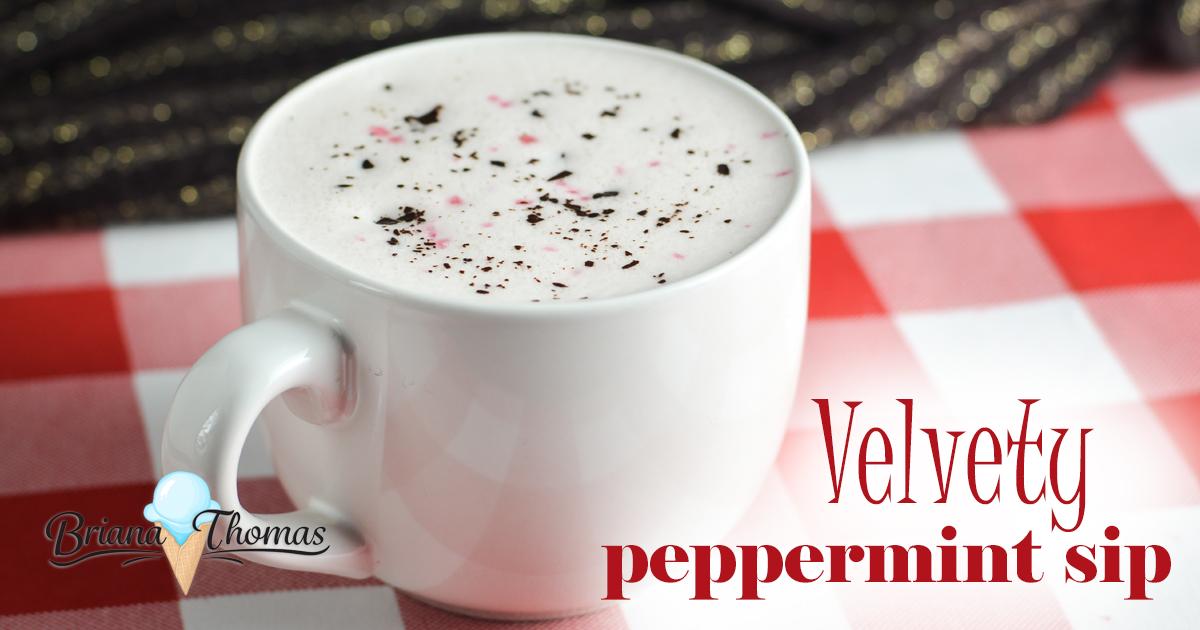 Velvety Peppermint Sip (THM Deep S)