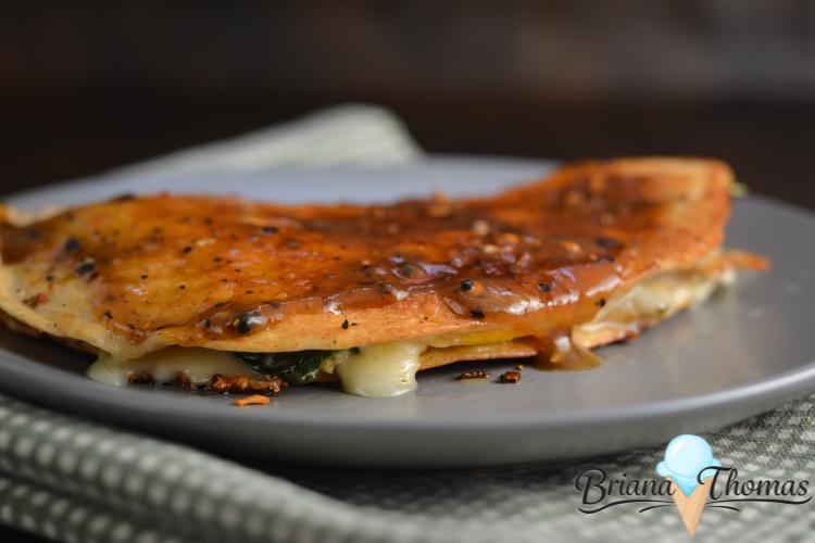 Leftover Turkey Fried Wrap
