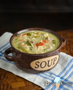 Turkey Pot Pie Chowder