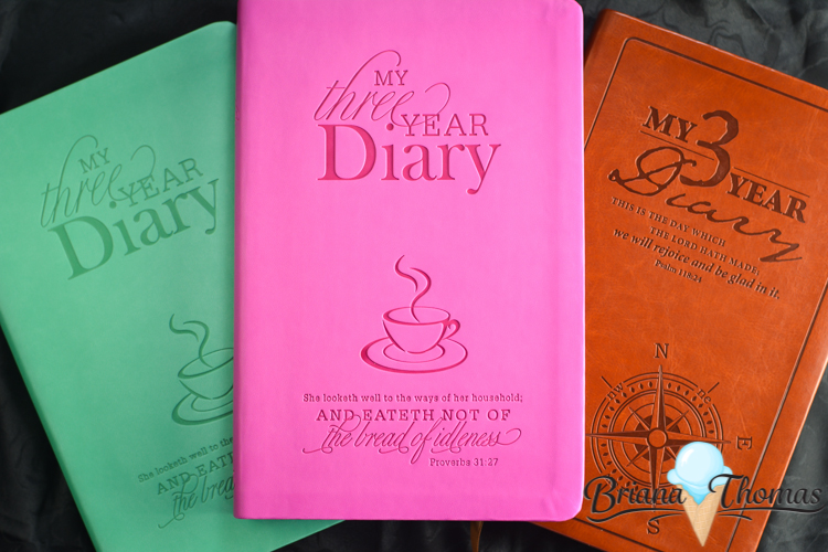 3-Year Leatherbound Diary Giveaway!