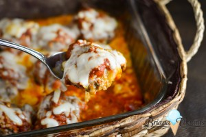 Italian Meatball Casserole