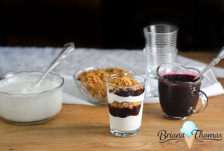 Click here to get THM-friendly recipes and ideas for vanilla yogurt, blueberry topping, and yogurt parfaits! THM:S (low carb), E (low fat), and FP options