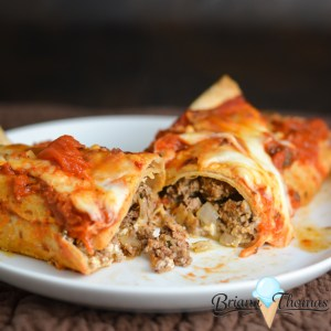 Lasagna Cabbage Rolls or Enchiladas